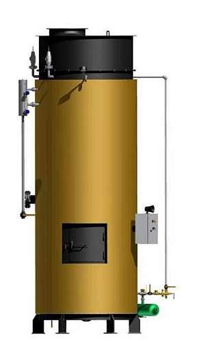 Gerador de vapor vertical
