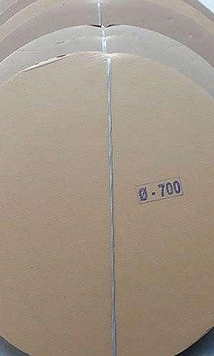 Onde encontrar disco de papelão ondulado
