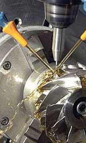Serviços de usinagem industrial