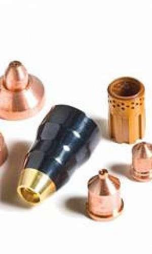 Tochas peças e consumiveis para corte plasma