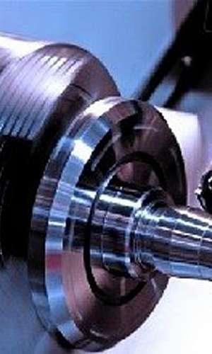Usinagem em torno CNC